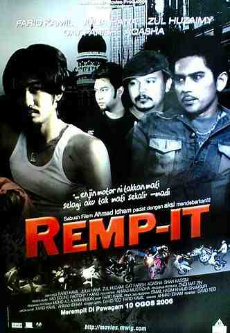 rempit, poster
